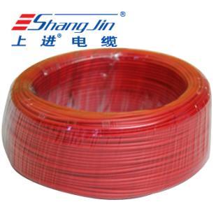 上海名牌 BVR4 国标足米 有认证  铜芯软电线 100米