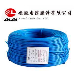 安缆 蓝色 BV6 平方国标铜芯电线 单芯铜线 101米