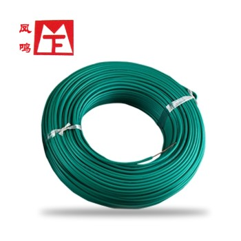 凤鸣电缆绿色BVR4国标铜芯电线100米