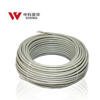 中科英华高速超五类4对非屏蔽室内数据缆 305m HSYV-5E 4*2*0.5