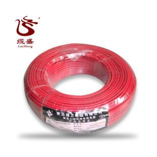 青岛通力电线红色 BV-2.5平方 国标正品 家装单股硬线铜芯线 包邮