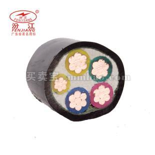 广东珠江电线电缆 0.6/1KV ZR-VV电力电缆5*4-5*10