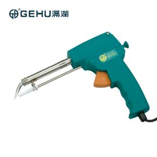 【GEHU滆湖】手动出锡焊枪手动送锡电烙铁<span style='color:red;'>枪</span>式烙铁
