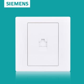 西门子开关插座面板 品宜系列 一位八芯电脑插座