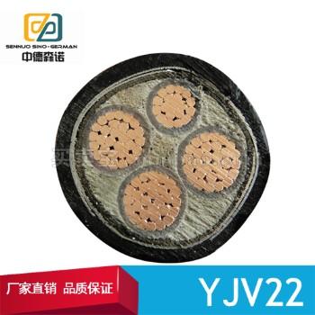 中德森诺 YJV22铜芯电力电缆