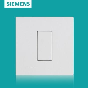 西门子开关插座面板 灵致白系列 空白面板