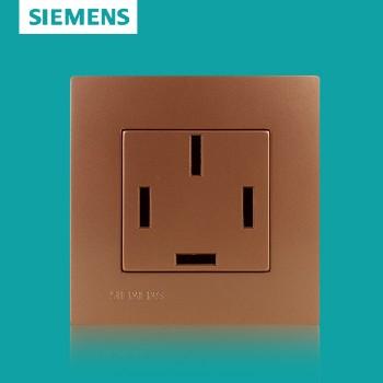 西门子开关插座面板 灵致金系列 三相四线插座 25A