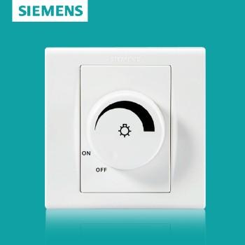 西门子开关插座面板 品宜系列 调光开关