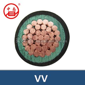 常德金雁电线电缆 VV铜芯聚氯乙烯绝缘聚氯乙烯护套电力电缆 3*10+1*6