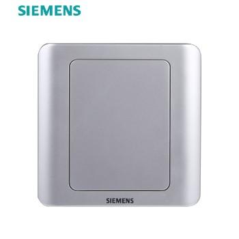 西门子开关插座面板  远景银系列 空白面板