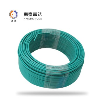 富达电线电缆绿色 BV1.5平方国标铜芯电线100米