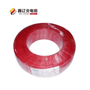 鑫辽北电线电缆绿色 BV2.5平方国标铜芯电线95米