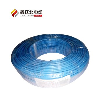 鑫辽北电线电缆蓝色 BV2.5平方国标铜芯电线95米