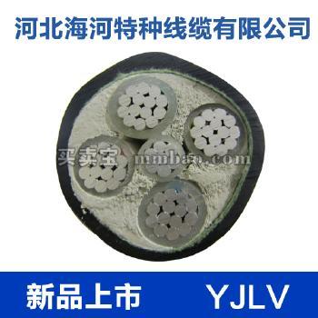 河北海河  0.6/1kV YJLV铝芯交联聚乙烯绝缘聚氯乙烯护套电力电缆 3*16+1*10