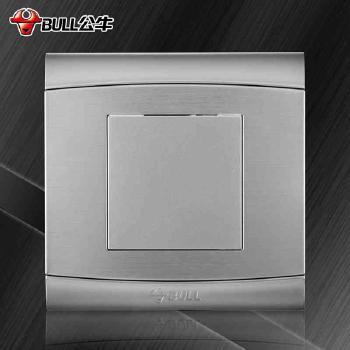 公牛开关 G19系列 空白面板(太空银)
