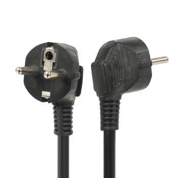 Gowone购旺 德法标插头纯铜线芯三相电源连接线 欧式德标/法标10A/16A 5米,3米