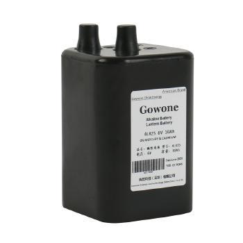 Gowone购旺 无汞环保碱性电池出口简装 4LR25 提灯渔船照明电池 6V