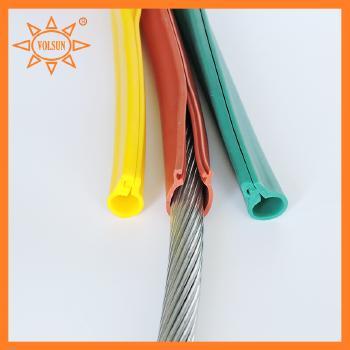 沃尔兴 卡扣式硅橡胶绝缘护套管  10KV