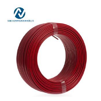 吉安特种线缆RV2.5平方国标铜芯电线多股软线100米 红色