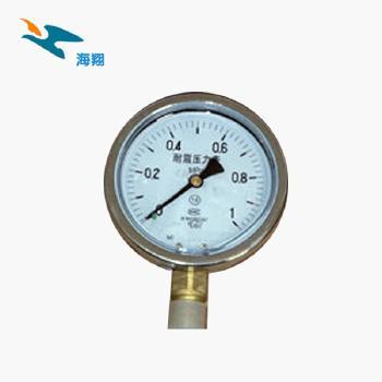 海翔  耐震压力表  压力表 YN-60  0-0.1mPa  (支持定做)
