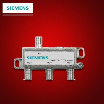 西门子开关插座面板 有线电视分配器一分三闭路电视分配器数字电视信号分配器
