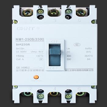 【正泰】 塑壳断路器 NM1-250S/3300 3P  160A
