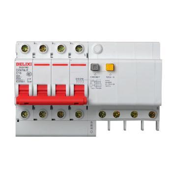 德力西电气 微型断路器(小型断路器);DZ47sLE 4P C 63A