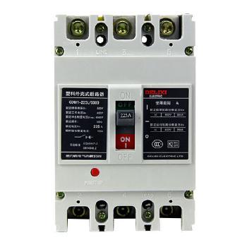 德力西电气 框架式断路器(万能式);CDM1-225L/3300 160A