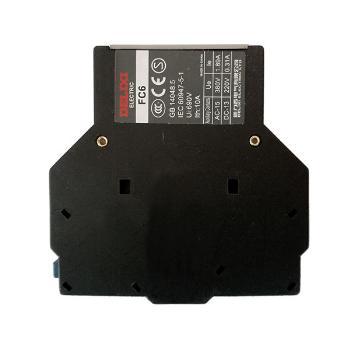 德力西电气 触控产品;FC6-02 侧辅助触头