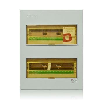 德力西电气 配电箱;CDPZ30S-40 回路 暗装 基础型