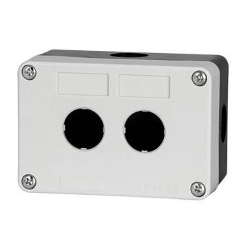德力西电气 防溅盒;LAY5s-HZ 2孔白面盖(按钮盒)