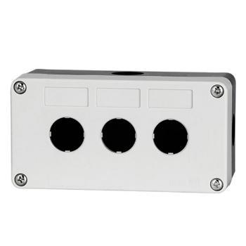 德力西电气 防溅盒;LAY5s-HZ 3孔白面盖(按钮盒)