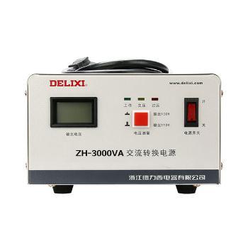 德力西电气 电源<span style='color:red;'>变压器</span>;ZH-3000VA