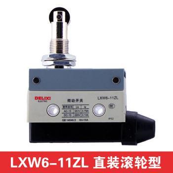 德力西电气 行程开关;LXW6-11ZL 直装滚轮型(面板安装)