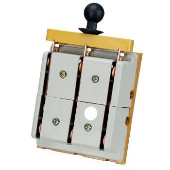 德力西电气 刀开关;HS11-200/38 玻 带防护罩