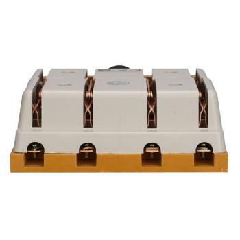 德力西电气 刀开关;HS11-400/48 胶 平板 带防护罩