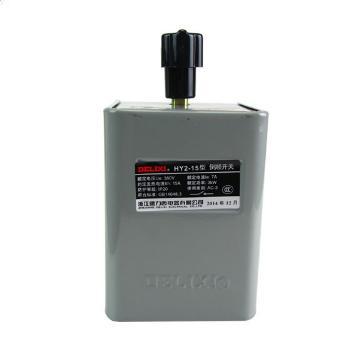德力西电气 倒顺开关;HY2-15A(铁壳)