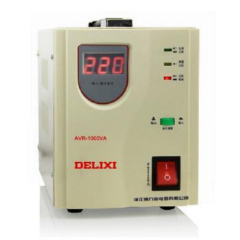 德力西电气 配电箱;AVR-1KVA家用自动交流稳压器