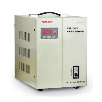 德力西电气 稳压电源;AVR-7KVA家用自动交流稳压器