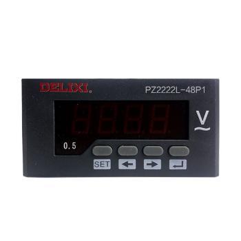 德力西电气 电压测量仪表;PZ2222L-48P1 600V