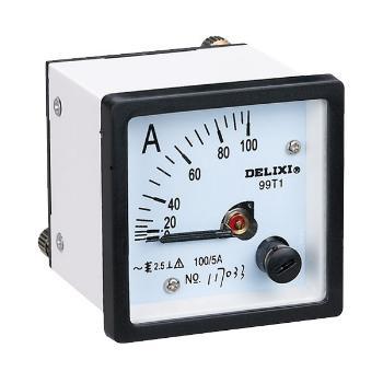 德力西电气 电流测量仪表;99T1-50/5