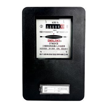 德力西电气 电能仪表;DT862-4K 3×220/380V 3×1.5(6)A*