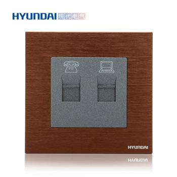 现代电气  K70系列 电话电脑插座