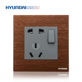 现代电气  K70系列 一开单控二三级插座