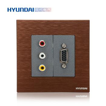 现代电气  K70系列 音频+VGA插座