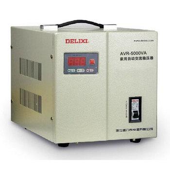 德力西电气 稳压电源;AVR-5KVA家用自动交流稳压器
