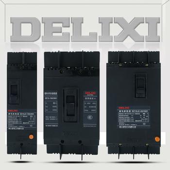德力西电气 漏电塑壳断路器;DZ15LE-100/4901 100A 75mA