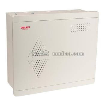 德力西电气 光纤终端信息箱;EN3 信息 大箱透明电视8电话9网络7采集2路
