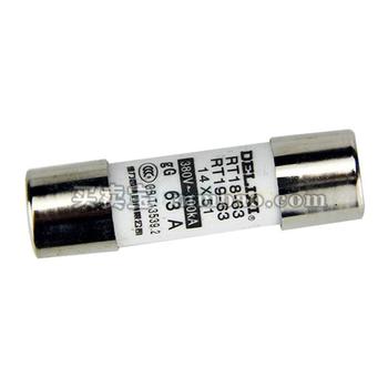 德力西电气 圆柱形熔断器;RT18 32A Φ10X38