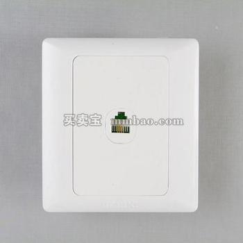 德力西CD200系列D86T8一位八芯数据插座